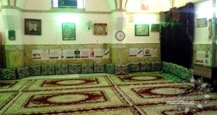اهدای ۸۱  عدد پشتی  به سالن سقاخانه حضرت ابوالفضل محله چهل دختران نایین توسط خیر محترم ازیزد.